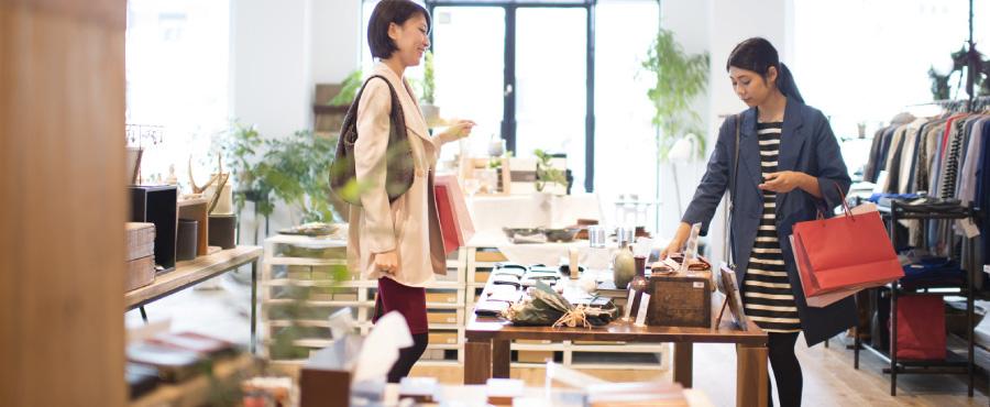 店舗空間・セール活動